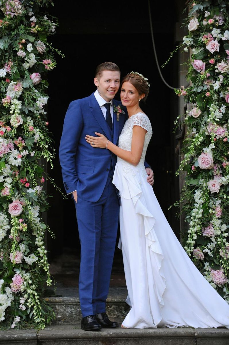 Made In Chelsea star Millie Mackintosh weds Professor ...